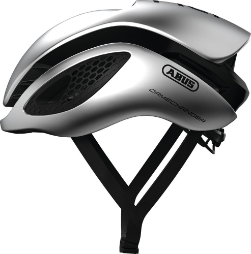 Abus Kask Road Gamechanger Gleam Silver L (58-61)